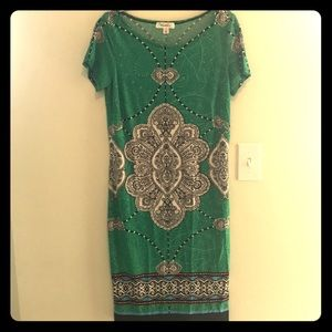 Never Worn! Dress Barn patterned dress size 10.